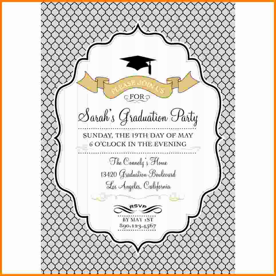 Credit Card Invitation Template Awesome 9 Graduation Card Template