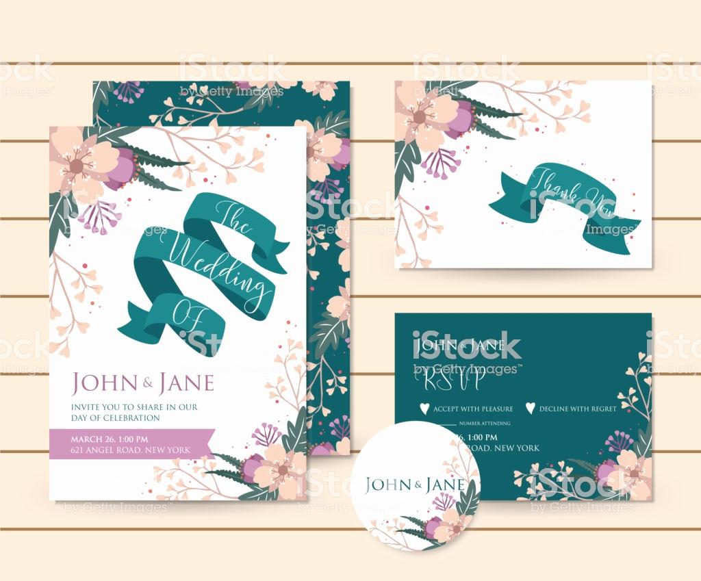 Credit Card Invitation Template Unique Modern Save the Date Floral Wedding Invitation Card