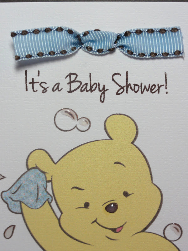 Cricut Baby Shower Invitation Ideas Awesome the Cricut Bug Pooh Baby Shower Invitation
