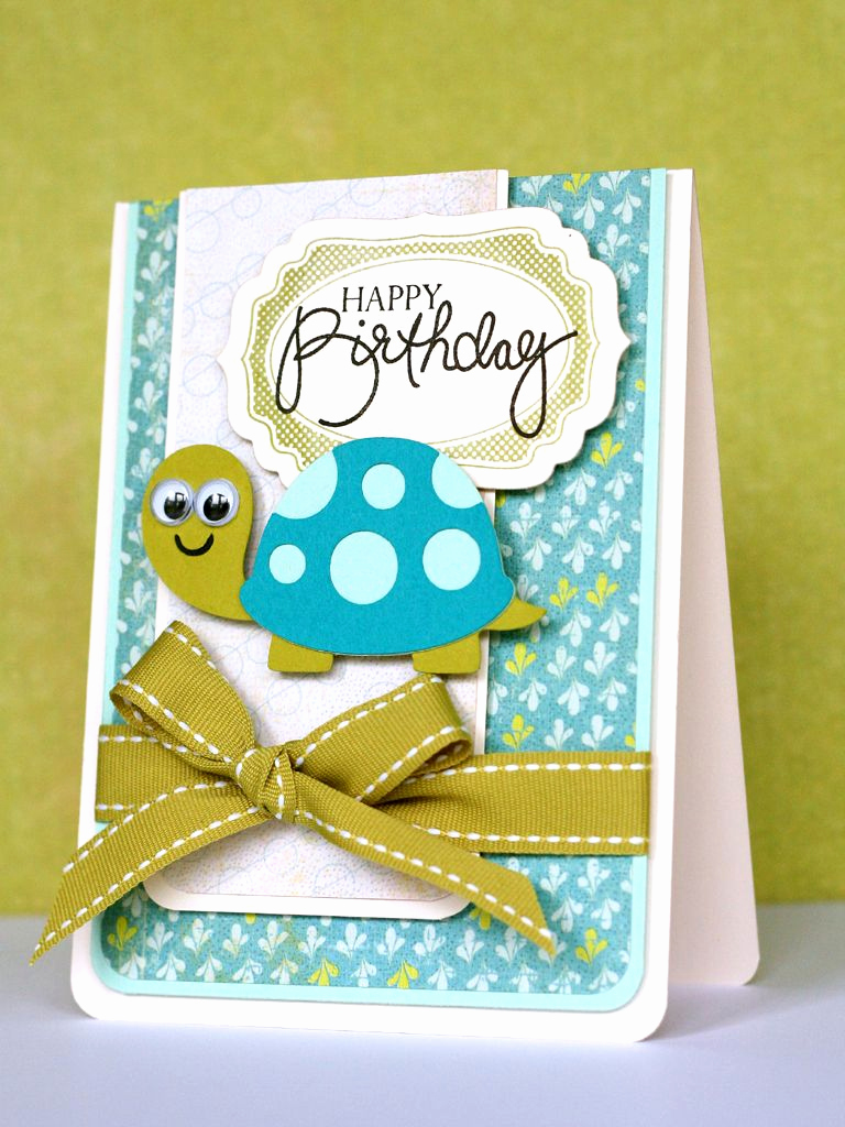 Cricut Baby Shower Invitation Ideas Best Of Cricut Birthday Card Create A Critter Cartridge Turtle
