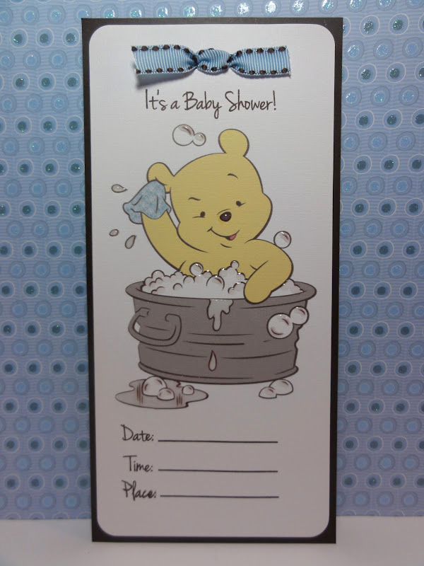 Cricut Baby Shower Invitation Ideas Best Of the Cricut Bug Pooh Baby Shower Invitation
