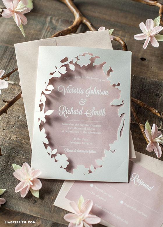 Cricut Wedding Invitation Ideas New Cuttable Wedding Ideas for the Ultimate Diy Bride