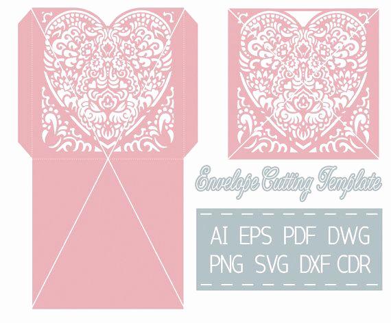 Cricut Wedding Invitation Templates Lovely 57 Best Laser Cut Cricut Svg Wedding Invitation Templates