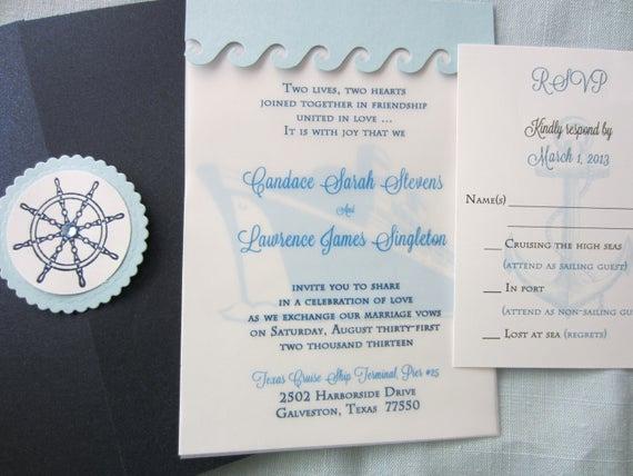 Cruise Ship Wedding Invitation Lovely Cruise Wedding Destination Wedding Invitation Cruise Ship