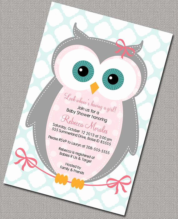 Cute Baby Shower Invitation Ideas Beautiful Cute Own Baby Shower Invitation for Girls Via Jason