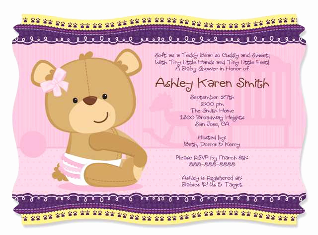 Cute Baby Shower Invitation Ideas Elegant Baby Shower Invitations Wording Ideas