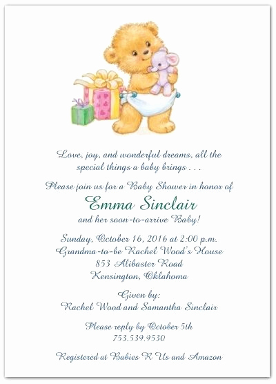 Cute Baby Shower Invitation Wording Awesome Cute Wording for Baby Shower Invites
