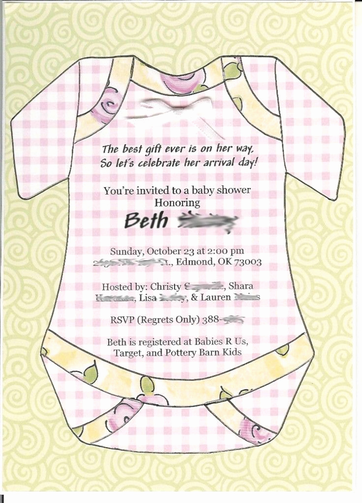Cute Baby Shower Invitation Wording Unique 10 Best Images About Simple Design Baby Shower Invitations