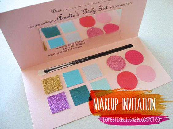 Cute Birthday Invitation Ideas Awesome Cute Girly Girl Party Invitation by Domesticblissnz