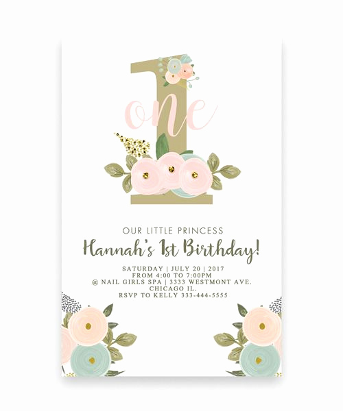 Cute Birthday Invitation Ideas Unique Best 25 First Birthday Invitations Ideas On Pinterest