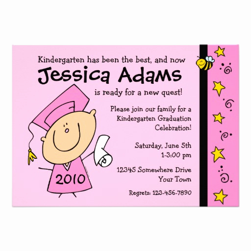 "Cute Graduation Invitation Ideas Beautiful Cute Girl Custom Graduation Invitations 5"" X 7"" Invitation"