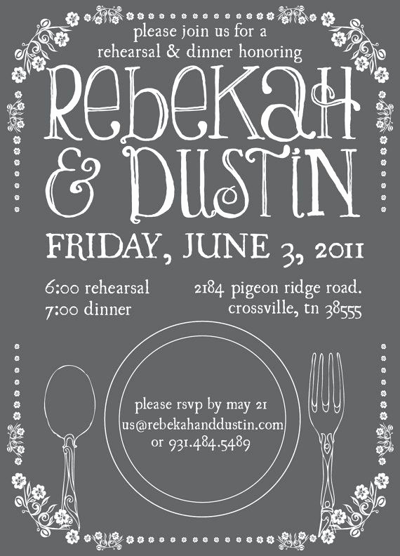 Cute Rehearsal Dinner Invitation Wording Awesome 10 Best Ideas About Wedding Rehearsal Dinner On Pinterest