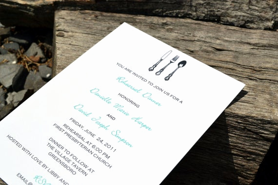Cute Rehearsal Dinner Invitation Wording Beautiful Rehearsal Dinner Invitation Personalized Rehearsal Dinner