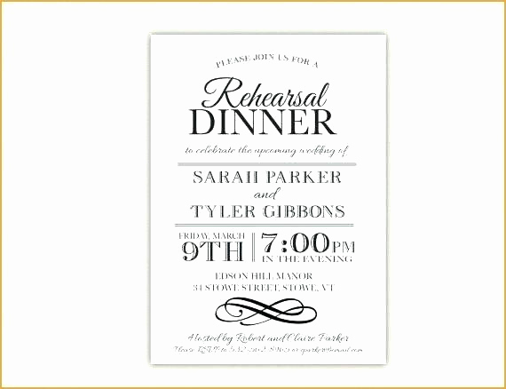 Cute Rehearsal Dinner Invitation Wording Beautiful Rehearsal Dinner Invite Wording – Imahdi
