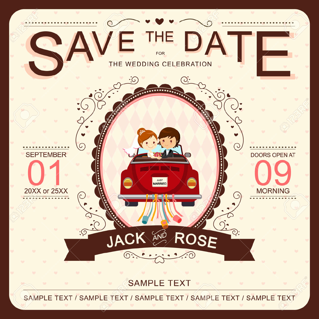 Cute Wedding Invitation Ideas Inspirational Cute Wedding Invitation Templates