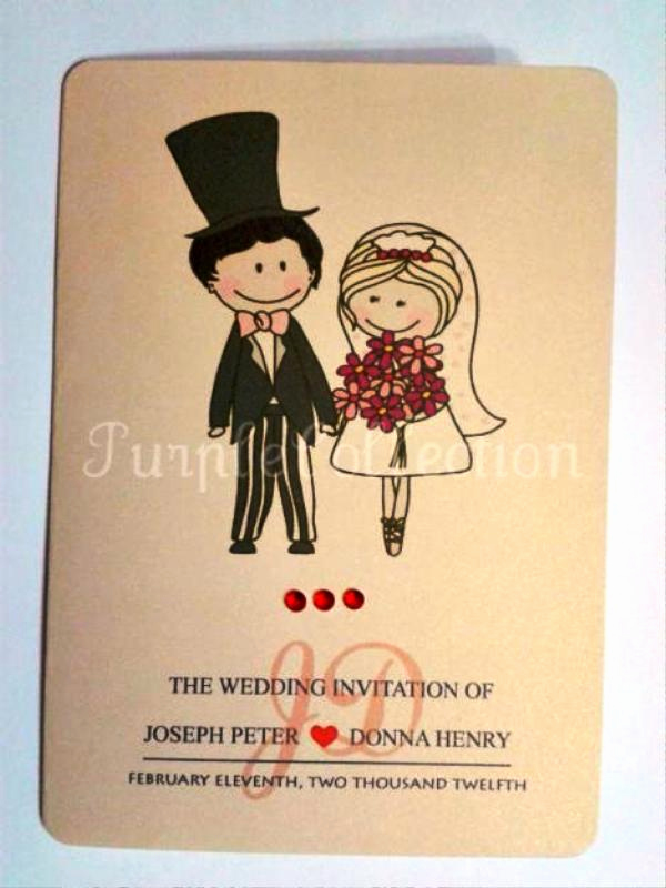 Cute Wedding Invitation Ideas Lovely Cute Wedding Invitations Ideas Wohh Wedding