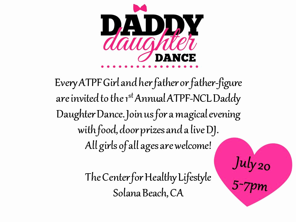 Daddy Daughter Dance Invitation Unique Up Ing events