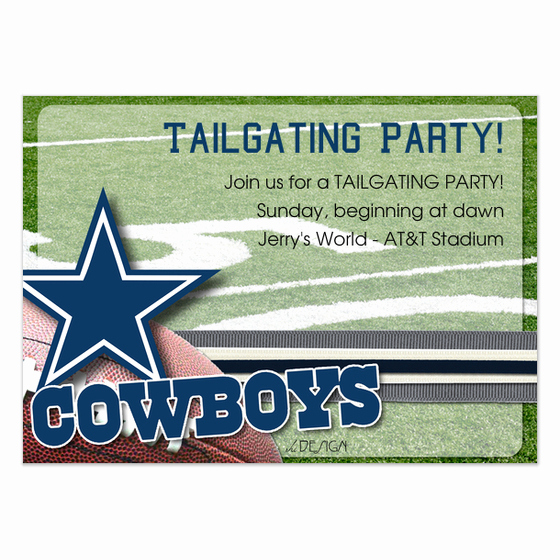 Dallas Cowboys Invitation Template Awesome Dallas Cowboys Invitations & Cards On Pingg