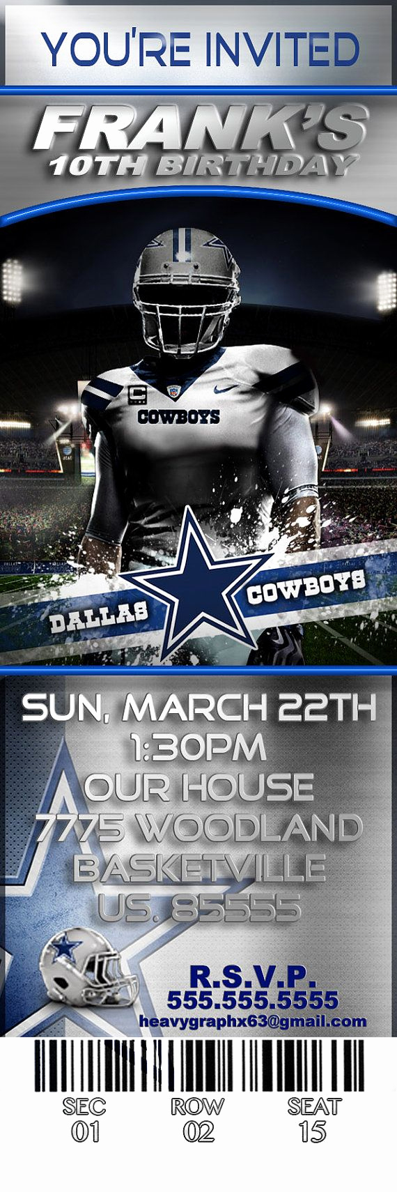 Dallas Cowboys Invitation Template Beautiful 25 Best Ideas About Cowboy Party Invitations On Pinterest
