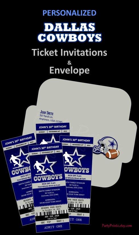 Dallas Cowboys Invitation Template Lovely 3 Invitation Esurancefantasytailgate Personalized Dallas
