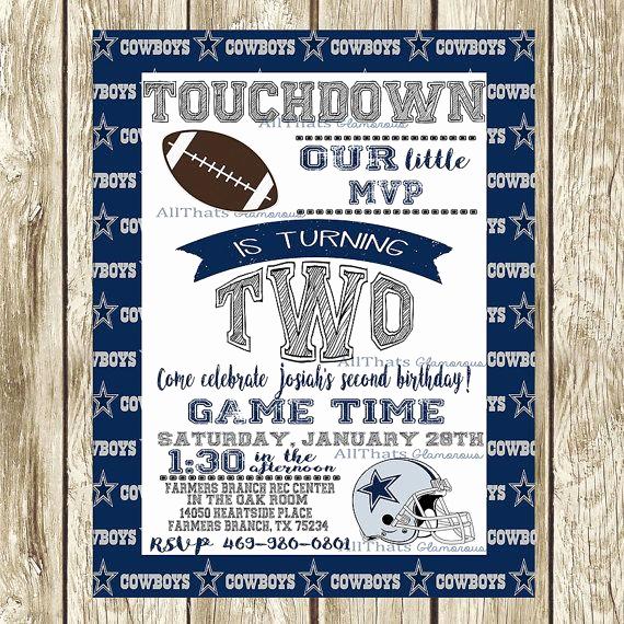Dallas Cowboys Invitation Template Luxury 50 Elegant Pics Dallas Cowboys Invitation Template