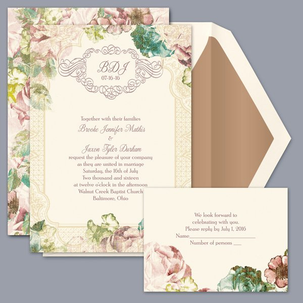 David Bridal Wedding Invitation Beautiful Invitations by David S Bridal Wedding Invitation