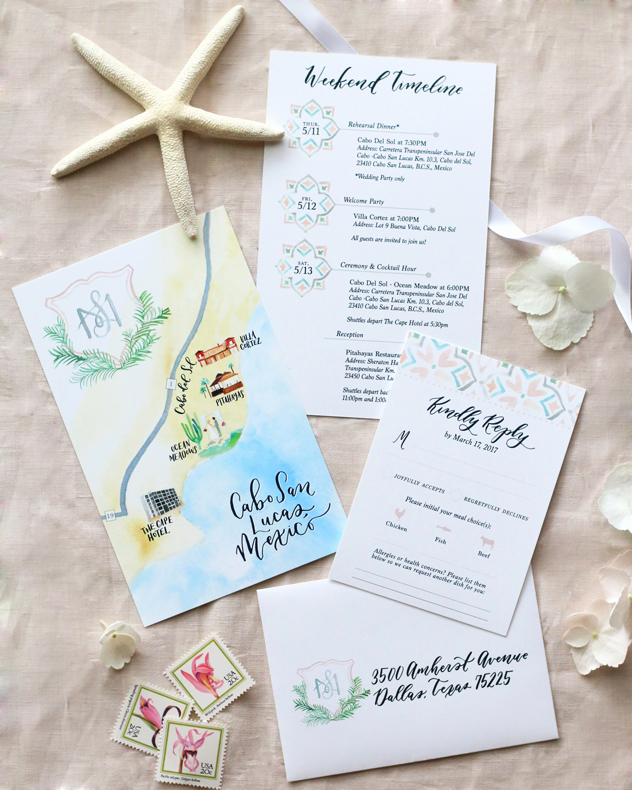 Destination Wedding Invitation Ideas New Cabo San Lucas Lasercut Destination Wedding Invitations