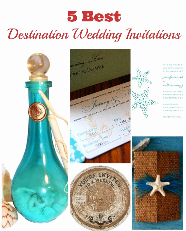 Destination Wedding Invitation Wording Luxury Destination Wedding Invitations