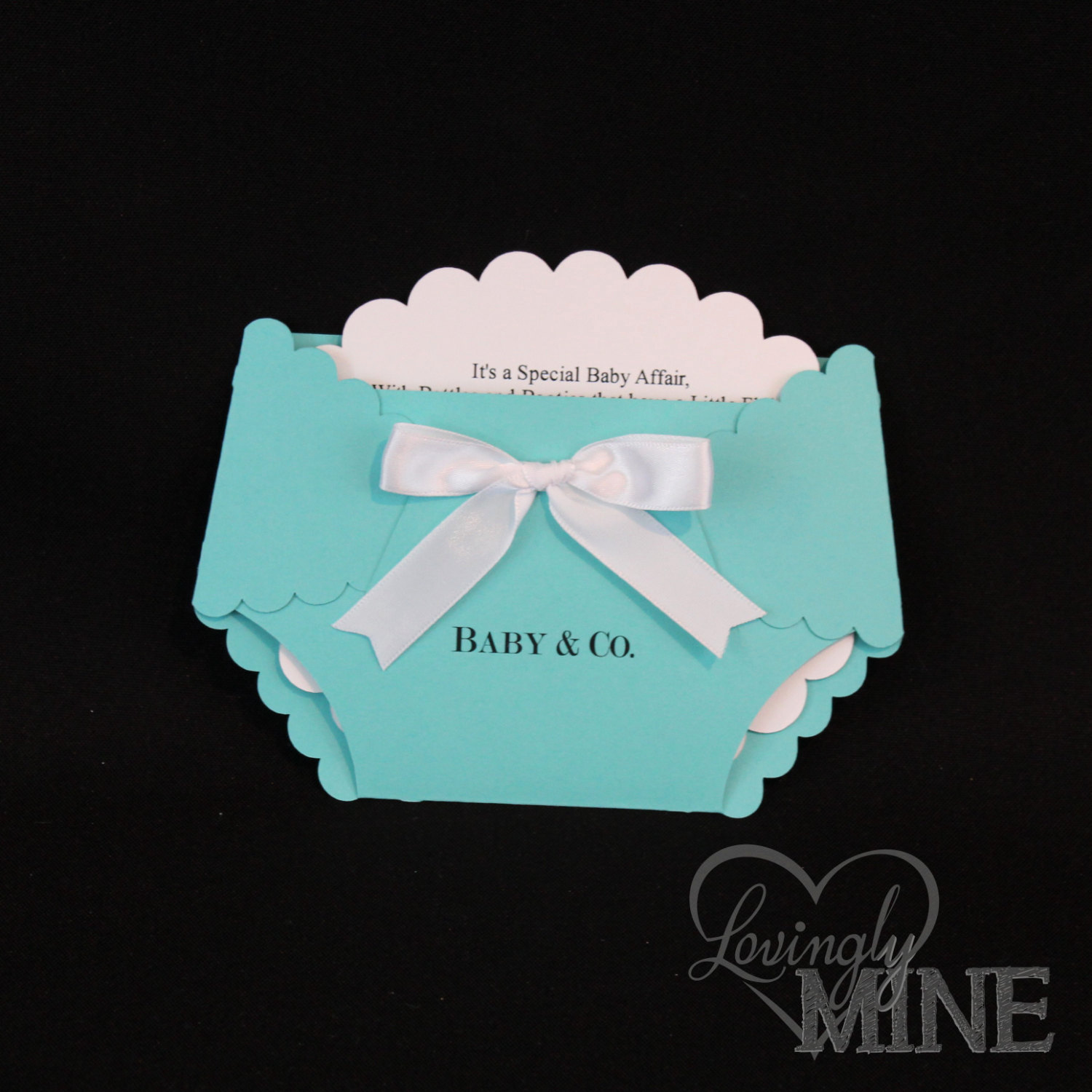 Diaper Baby Shower Invitation Awesome Popular Items for Diaper Image