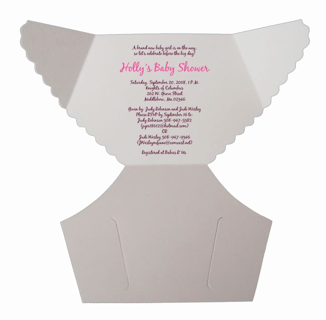 Diaper Baby Shower Invitation Template New Best 25 Diaper Invitation Template Ideas On Pinterest
