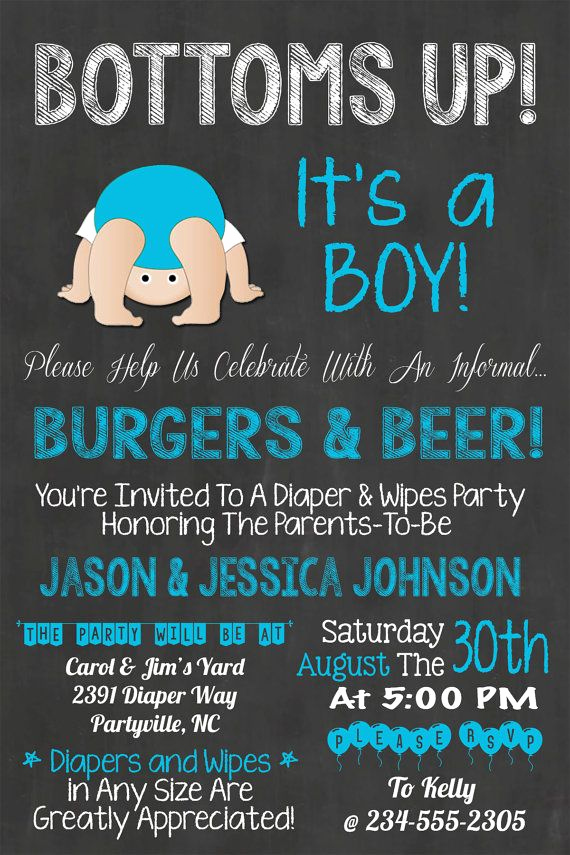 Diaper Party Invitation Templates Fresh Best 25 Diaper Shower Ideas On Pinterest