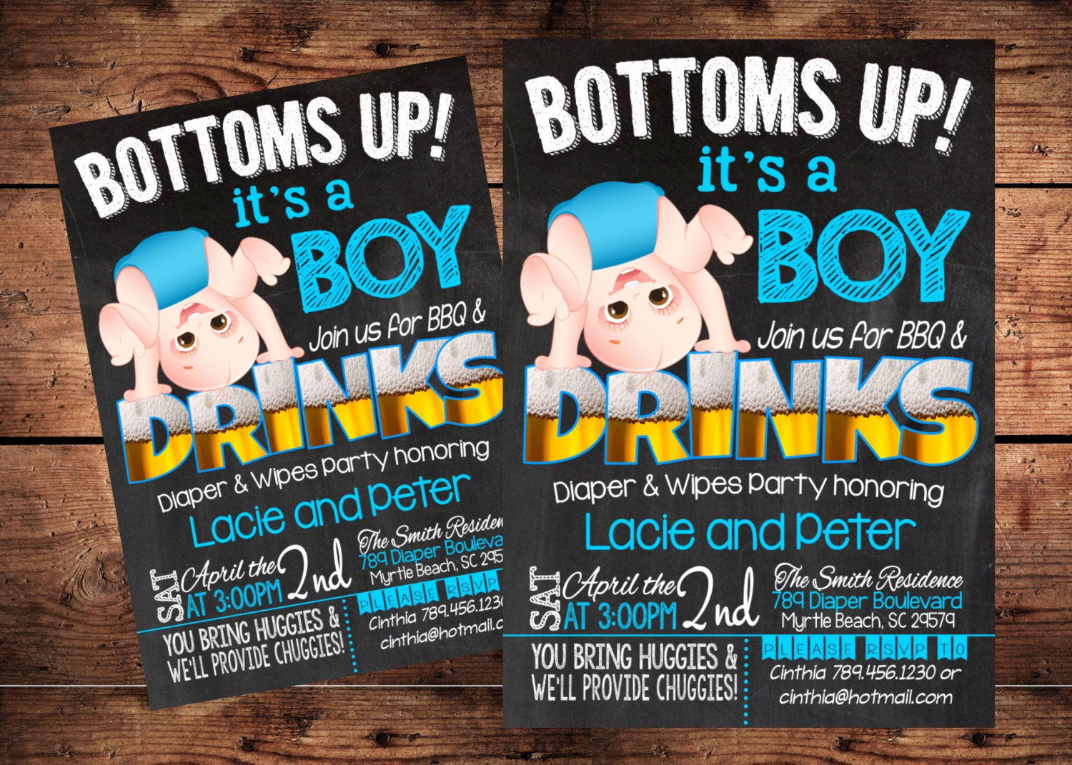 Diaper Party Invitation Wording Unique Bottoms Up Baby Shower Invitation Funny Diaper Shower