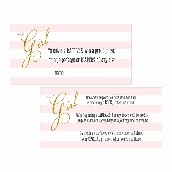 Diaper Raffle Invitation Inserts Inspirational Items Similar to Digital Printable Diaper Raffle Tickets