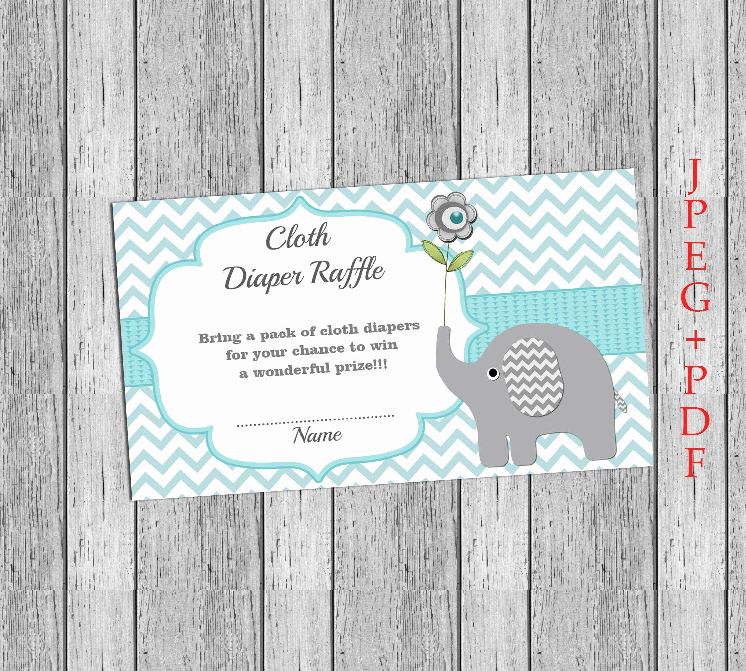 Diaper Raffle Invitation Inserts Lovely Insert for Baby Shower Invitation Cloth Diaper Raffle Ticket
