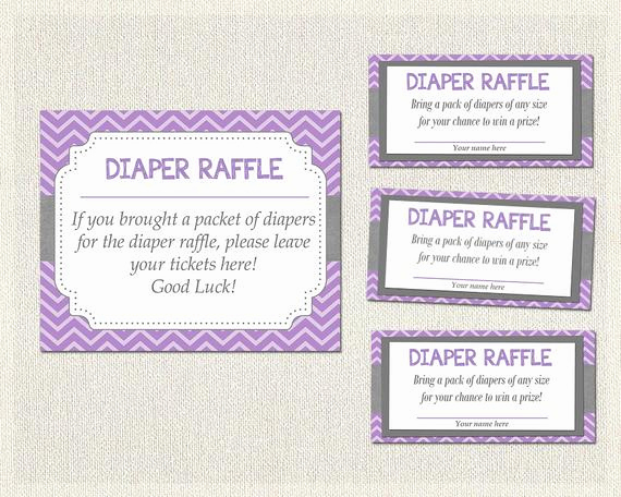 Diaper Raffle Invitation Inserts Unique Diaper Raffle Bring A Pack Raffle Insert Printable Diaper