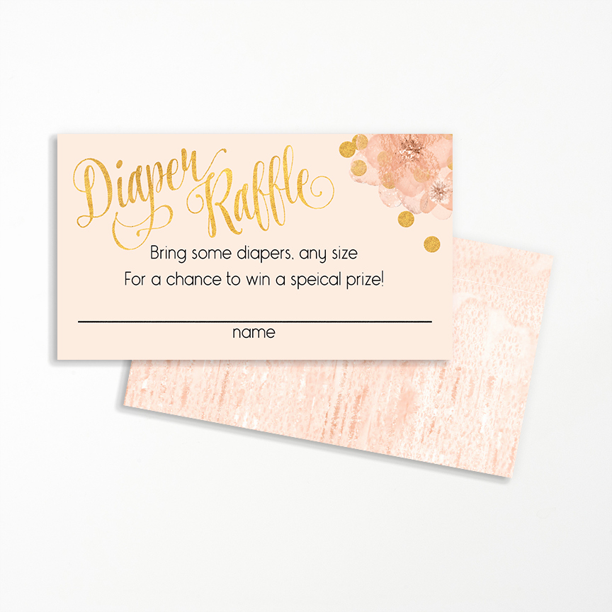 Diaper Raffle Wording On Invitation Fresh Diaper Raffle Card
