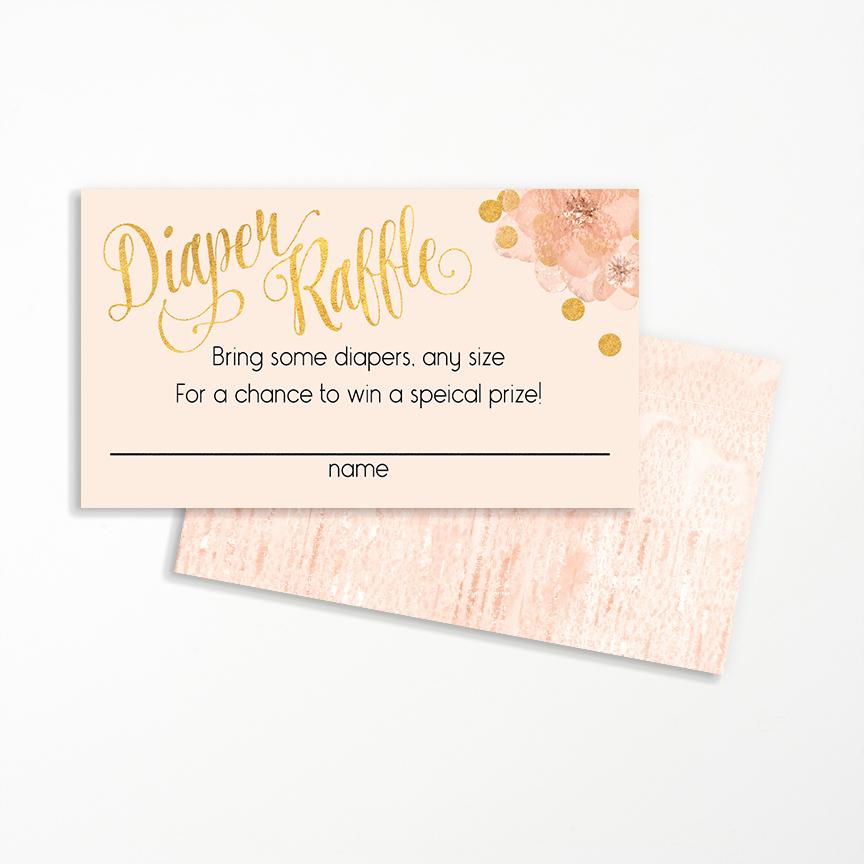Diaper Raffle Wording On Invitation Fresh Diaper Raffle Card
