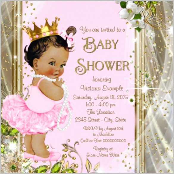 Diaper Shower Invitation Template New Baby Shower Invitation Template 29 Free Psd Vector Eps