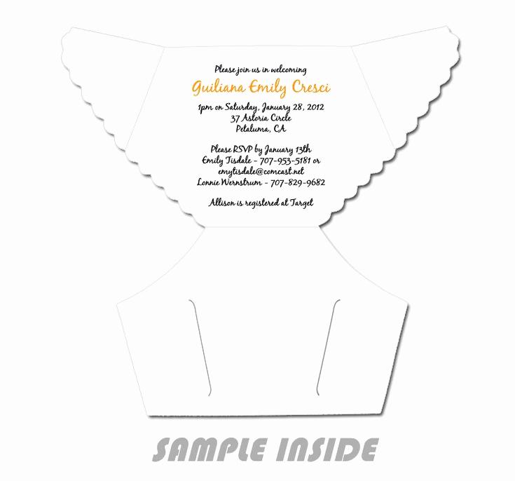 Diaper Template for Invitation Unique Best 25 Diaper Invitation Template Ideas On Pinterest