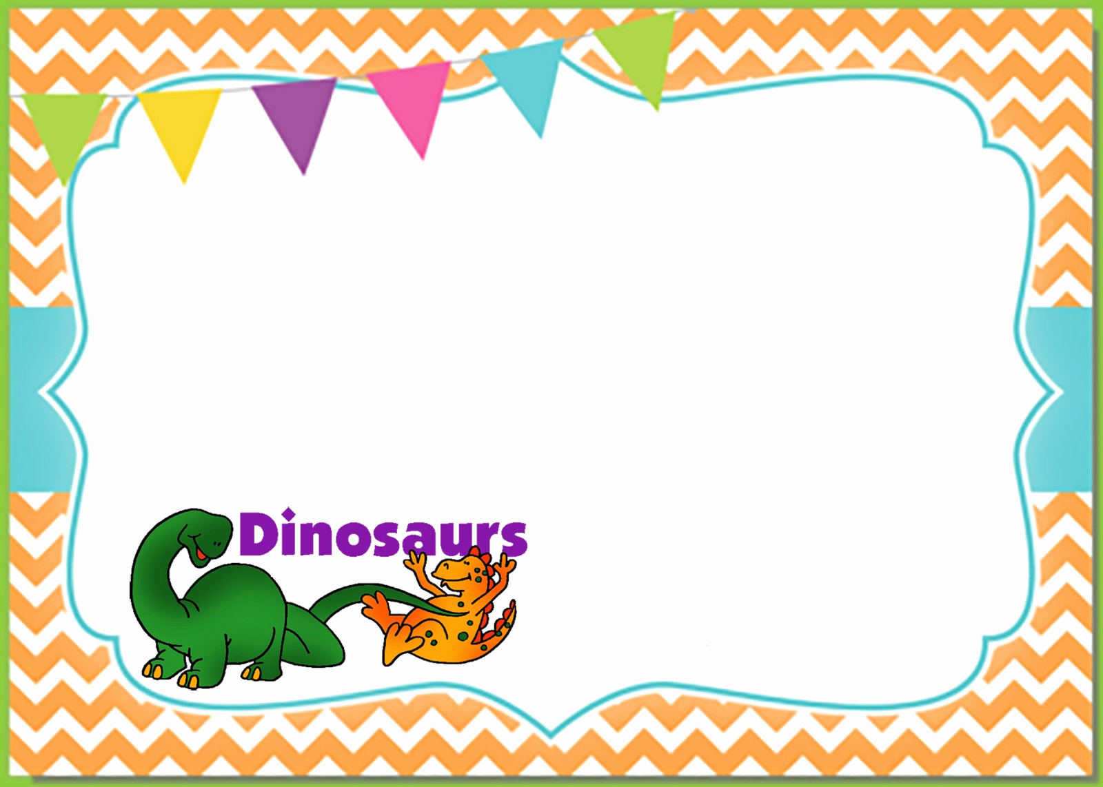 Dinosaur Birthday Invitation Template Lovely 6 Printable Invitation Templates for A Dinosaur Birthday