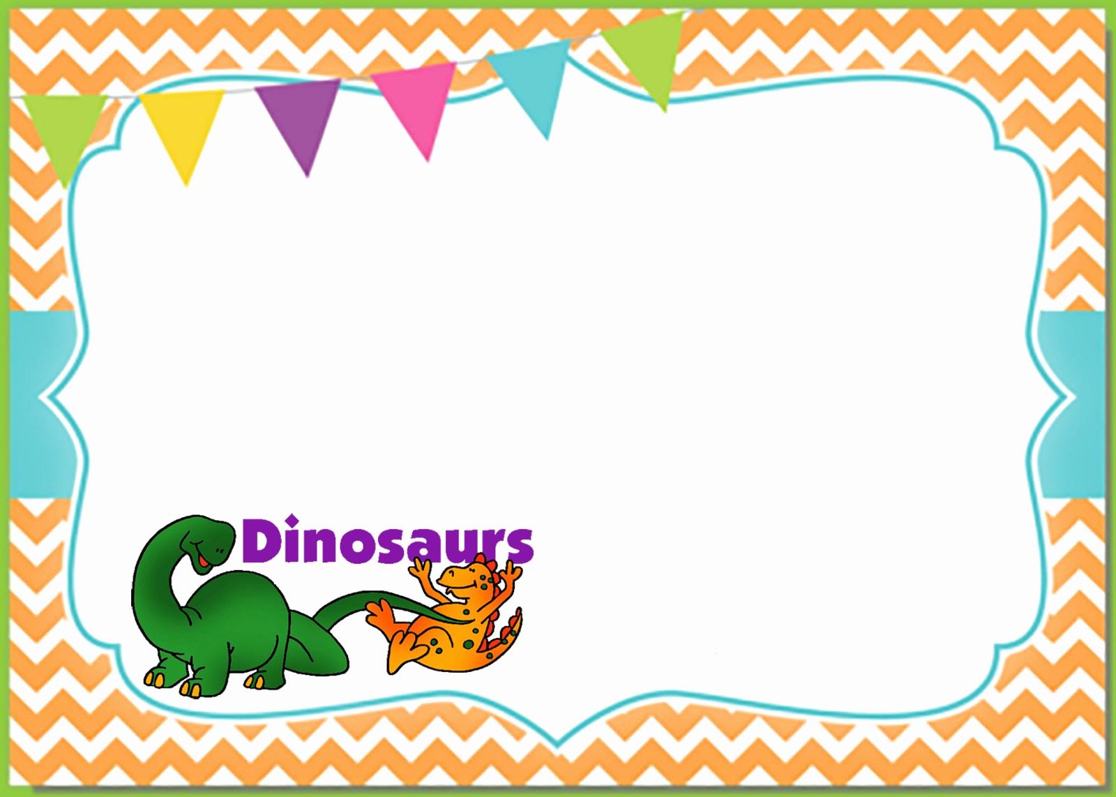 Dinosaur Birthday Invitation Template Lovely 6 Printable Invitation Templates for A Dinosaur Birthday