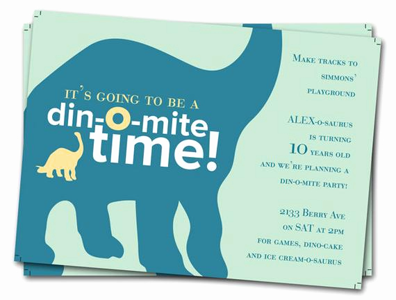 Dinosaur Birthday Invitation Wording Awesome Dinosaur Birthday Invitations Printable Boys Birthday Party