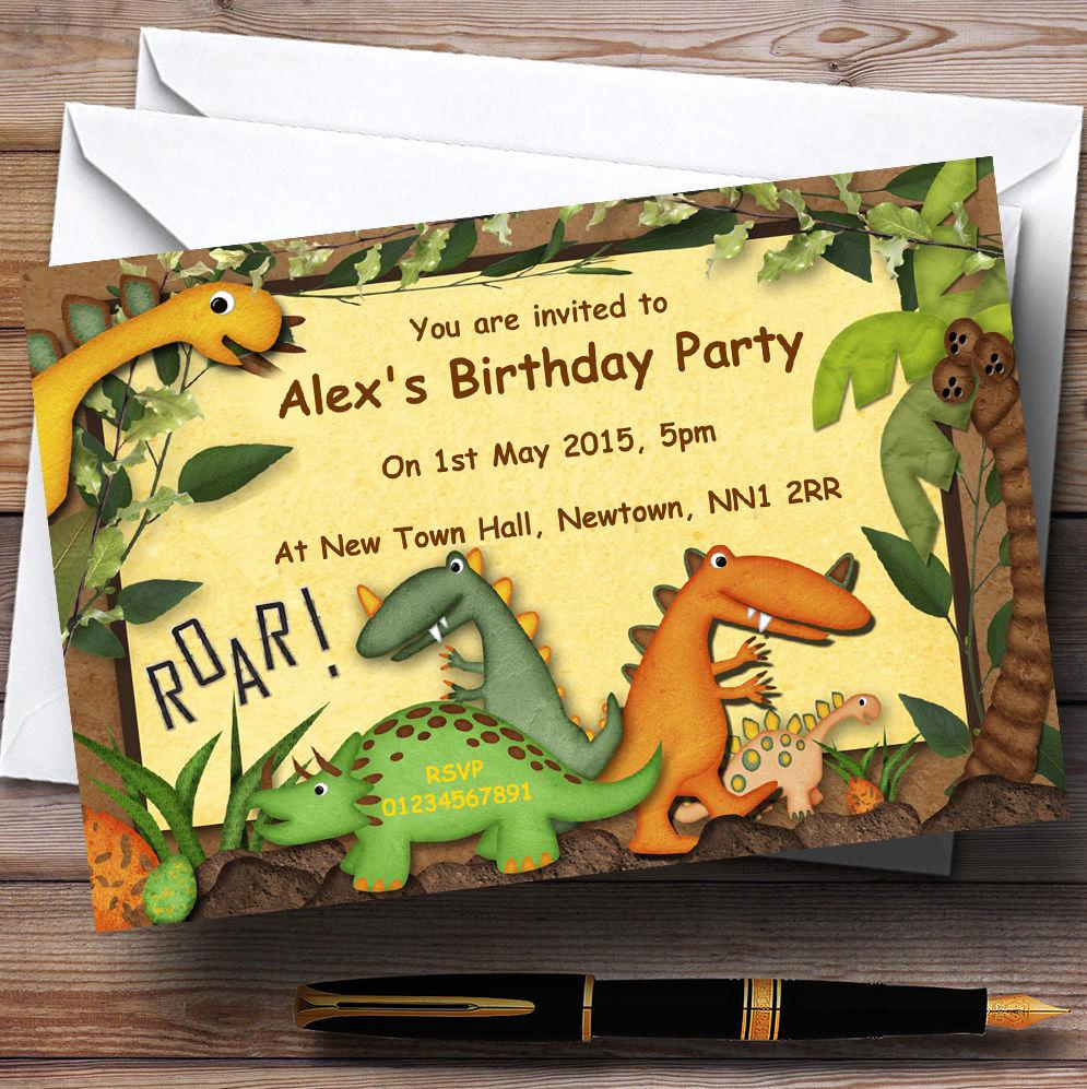 Dinosaur Birthday Invitation Wording Best Of 17 Dinosaur Birthday Invitations How to Sample Templates