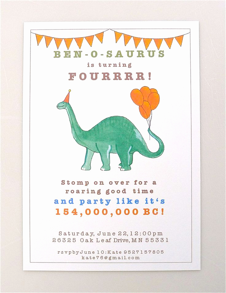 Dinosaur Birthday Invitation Wording Elegant 25 Best Ideas About Dinosaur Invitations On Pinterest