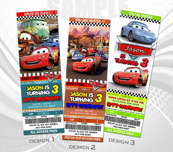 Disney Cars Invitation Template Best Of 39 Baby Shower Invitation Templates Psd Vector Eps Ai