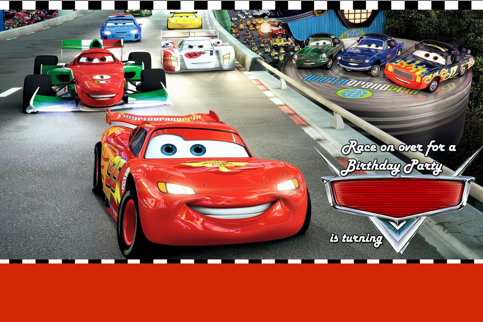 Disney Cars Invitation Template Luxury Moms Kid Party Link Disney Cars Party Invitation