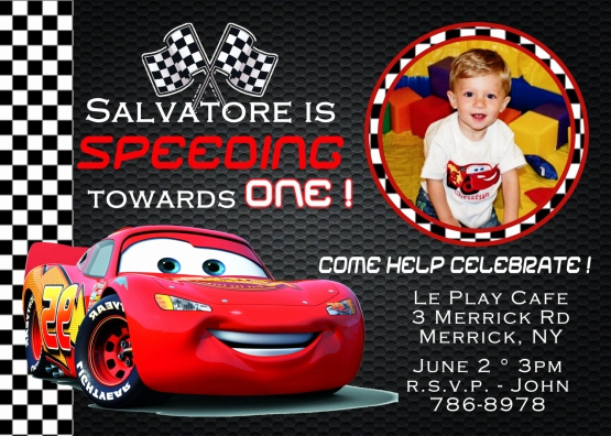 Disney Cars Invitation Template Unique Cars Birthday Invitations Ideas – Free Printable Birthday