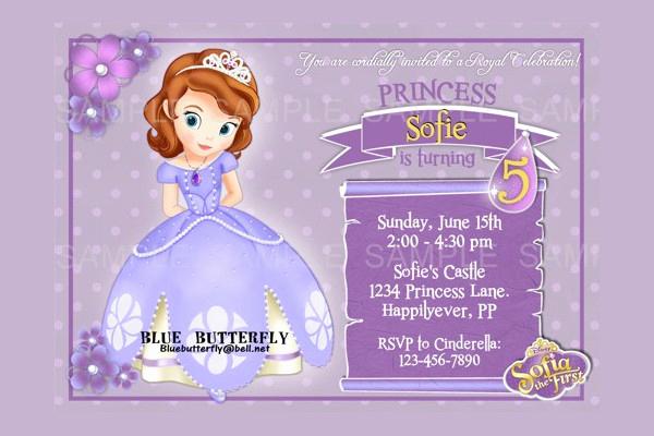 Disney Princess Invitation Templates Free Unique 11 Disney Invitation Designs & Templates Psd Ai