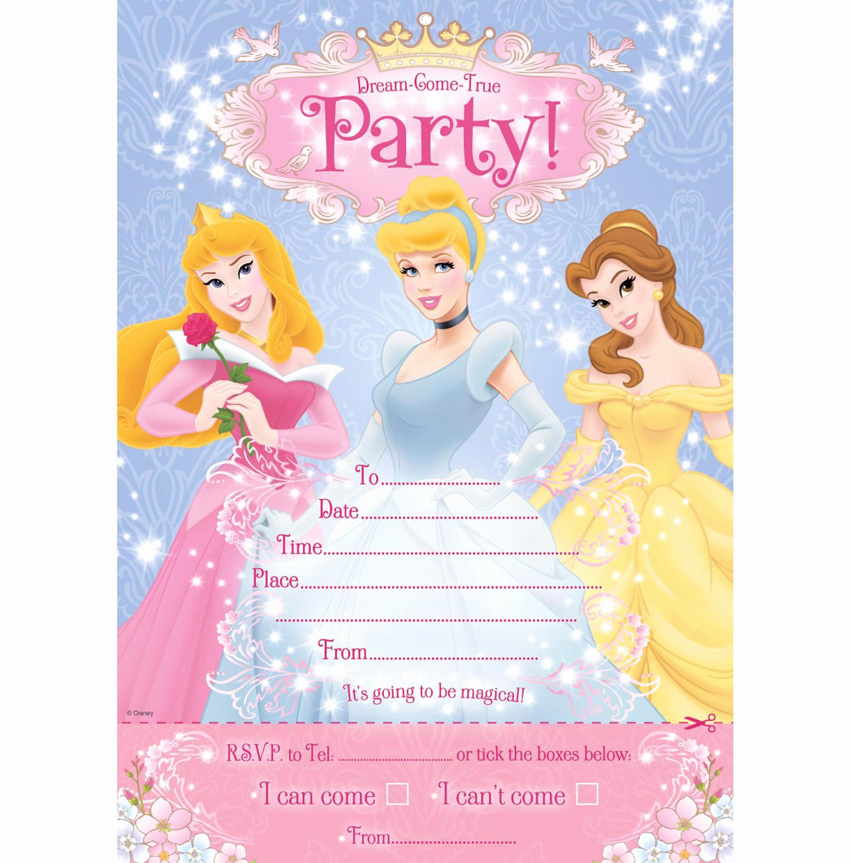 Disney Princess Invitation Templates Free Unique 30th Birthday Invitations 30th Birthday Invitations