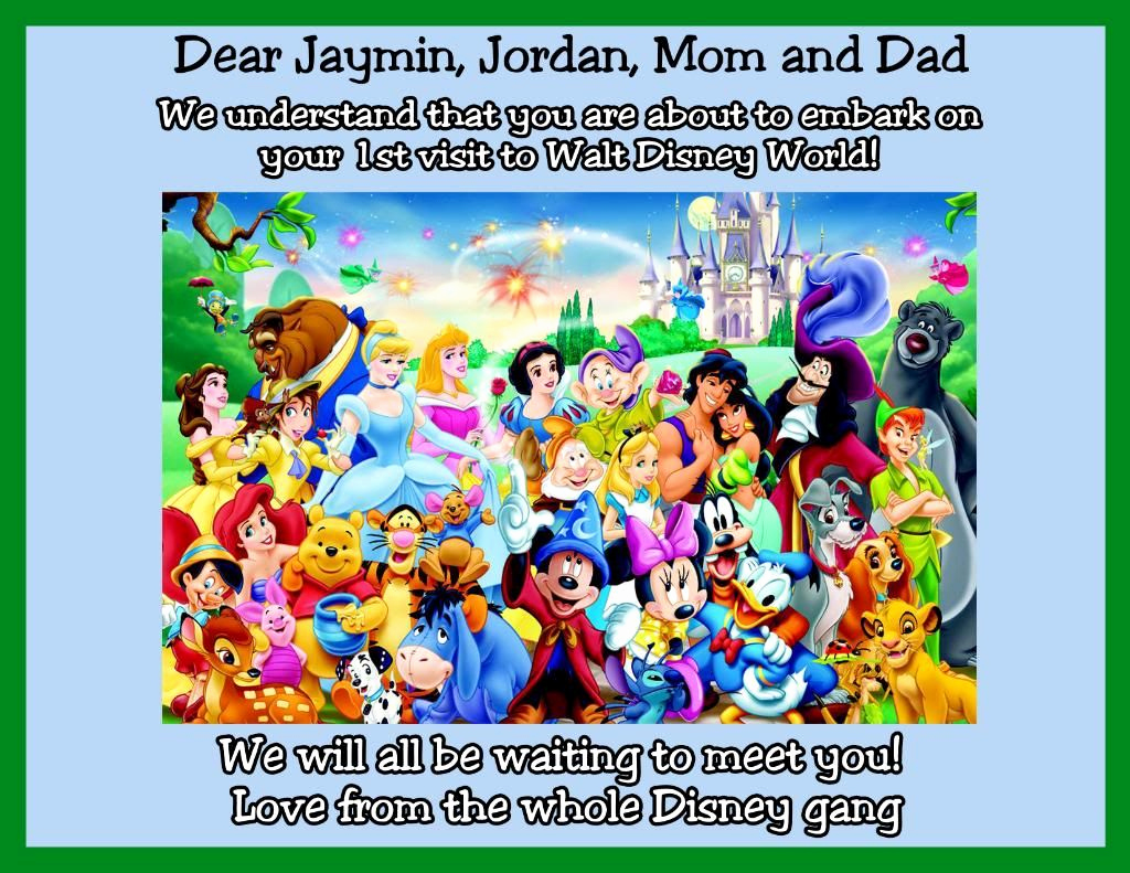 Disney World Invitation Letter Elegant Anyone Able to Make some Dining event Invite Letters for